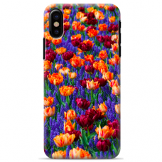 """Iphone Xs MAX TPU dėklas unikaliu dizainu 1.0 mm """"u-case Airskin Nature 2 design"""""""