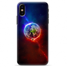 "Iphone X / Iphone XS TPU dėklas unikaliu dizainu 1.0 mm ""u-case Airskin Nature 4 design"""