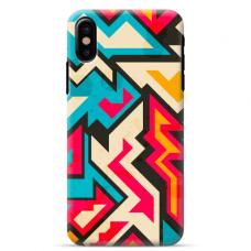 """Iphone Xs MAX TPU dėklas unikaliu dizainu 1.0 mm """"u-case Airskin Pattern 7 design"""""""