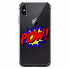 "Iphone X / Iphone Xs TPU dėklas unikaliu dizainu 1.0 mm ""u-case Airskin POW design"""