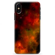 """Iphone Xs MAX TPU dėklas unikaliu dizainu 1.0 mm """"u-case Airskin Space 1 design"""""""