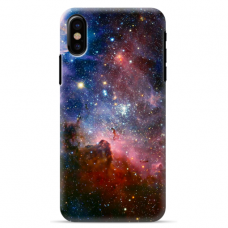 """Iphone Xs MAX TPU dėklas unikaliu dizainu 1.0 mm """"u-case Airskin Space 2 design"""""""