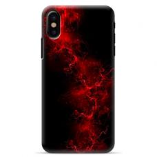 """Iphone Xs MAX TPU dėklas unikaliu dizainu 1.0 mm """"u-case Airskin Space 3 design"""""""