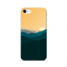 """Iphone 7 / iphone 8 TPU dėklas unikaliu dizainu 1.0 mm """"u-case Airskin Mountains 2 design"""""""