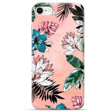 """Iphone SE 2020 TPU dėklas unikaliu dizainu 1.0 mm """"u-case Airskin Flowers 1 design"""""""