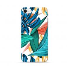 """Iphone 7 / iphone 8 TPU dėklas unikaliu dizainu 1.0 mm """"u-case Airskin Leaves 1 design"""""""