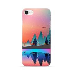 """Iphone 7 / iphone 8 TPU dėklas unikaliu dizainu 1.0 mm """"u-case Airskin Nature 5 design"""""""