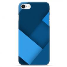 """Iphone SE 2020 TPU dėklas unikaliu dizainu 1.0 mm """"u-case Airskin Blue design"""""""