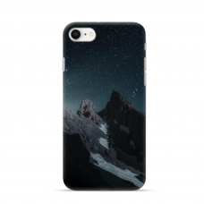 "Iphone SE 2020 TPU dėklas unikaliu dizainu 1.0 mm ""u-case Airskin Mountains 1 design"""