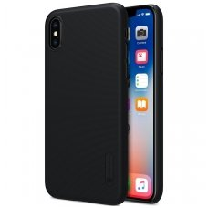 Iphone X/ XS dėklas nillkin frosted PC plastikas juodas