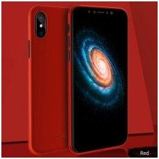 Iphone X/ XS dėklas ROCK Naked Shell plonas raudonas