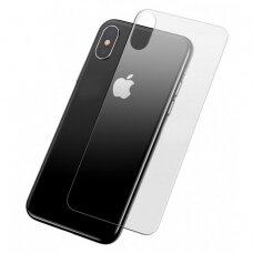 akcija! Iphone x grūdinto stiklo galinio dangtelio apsauga