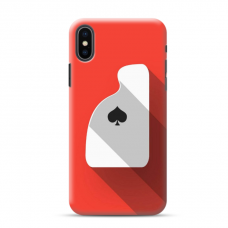 """Iphone X / Iphone XS TPU dėklas unikaliu dizainu 1.0 mm """"u-case Airskin Ace design"""""""