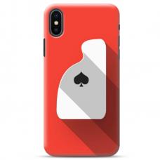 """Iphone Xs Max TPU dėklas unikaliu dizainu 1.0 mm """"u-case Airskin Ace design"""""""