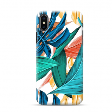 "Iphone X / Iphone XS TPU dėklas unikaliu dizainu 1.0 mm ""u-case Airskin Leaves 1 design"""