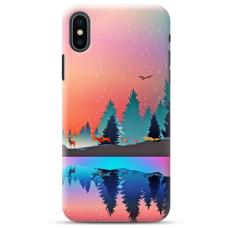 """Iphone Xs max TPU dėklas unikaliu dizainu 1.0 mm """"u-case Airskin Nature 5 design"""""""