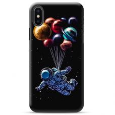 """Iphone X / Iphone XS TPU dėklas unikaliu dizainu 1.0 mm """"u-case Airskin Cosmo design"""""""