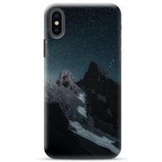 """Iphone Xs max TPU dėklas unikaliu dizainu 1.0 mm """"u-case Airskin Mountains 1 design"""""""