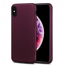 Iphone X/ XS dėklas PIPILU/X-LEVEL GUARDIAN silikoninis bordo