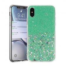Iphone x / xs dėklas Vennus Briliant TPU žalias