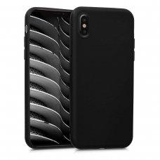 Iphone x/ xs dėklas Vennus silicone lite juodas