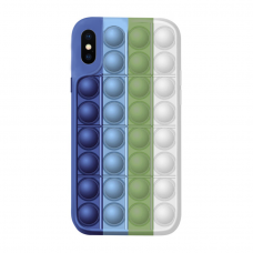 Iphone X / XS silikoninis dėklas POP IT Design 2