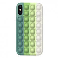 Iphone X / XS silikoninis dėklas POP IT Design 3