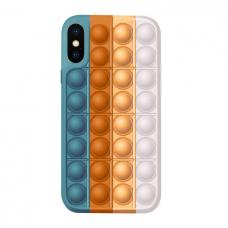 Iphone X / XS silikoninis dėklas POP IT Design 4