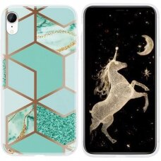 iphone x / xs Cosmo Marble silicon dizainas 2
