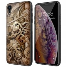 iphone xr DĖKLAS NILLKIN GEAR PC+TPU RUDAS