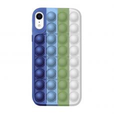 Iphone XR silikoninis dėklas POP IT Design 2