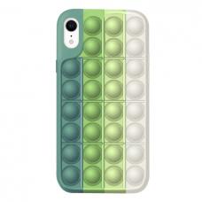 Iphone XR silikoninis dėklas POP IT Design 3