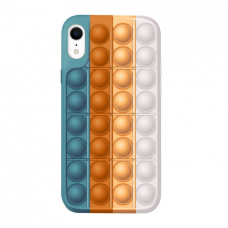Iphone XR silikoninis dėklas POP IT Design 4
