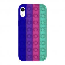 Iphone XR silikoninis dėklas POP IT Design 5