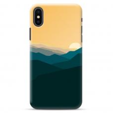 """Iphone XR TPU dėklas unikaliu dizainu 1.0 mm """"u-case Airskin Mountains 2 design"""""""
