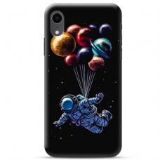 """Iphone XR TPU dėklas unikaliu dizainu 1.0 mm """"u-case Airskin Cosmo design"""""""