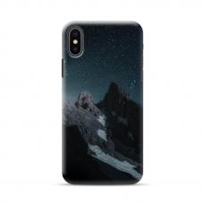 """Iphone XR TPU dėklas unikaliu dizainu 1.0 mm """"u-case Airskin Mountains 1 design"""""""