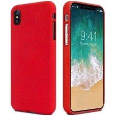 iphone xs max DĖKLAS MERCURY JELLY SOFT SILIKONINIS raudonas