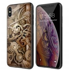iphone xs max DĖKLAS NILLKIN GEAR PC+TPU RUDAS
