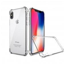 iphone x/xs DĖKLAS ANTISHOCK 0,5MM SILIKONINIS SKAIDRUS