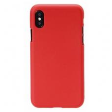 iphone x/xs DĖKLAS MERCURY JELLY SOFT SILIKONINIS raudonas