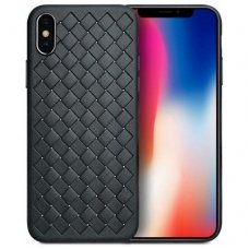 "iphone x/xs DĖKLAS ""N TOP S KNIT"" SILIKONAS juodas"