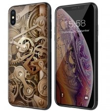 iphone x/xs DĖKLAS NILLKIN GEAR PC+TPU RUDAS