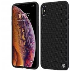 iphone xs max DĖKLAS NILLKIN TEXTURE PC+TPU JUODAS