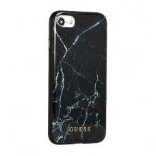 iphone 7 plus / 8 plus dėklas originalus guess silikonas juodas
