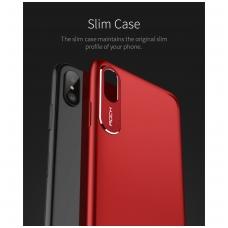 iphone x/xs dėklas rock classy pc plastikas raudonas