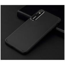 iphone x/xs dėklas rock classy pc plastikas juodas