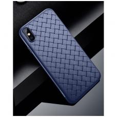 iphone x/xs dėklas rock weaving tpu mėlynas