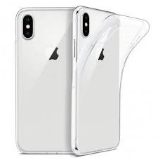 iphone xs max DĖKLAS silikonas ULTRA SLIM 0,3MM PERMATOMAS