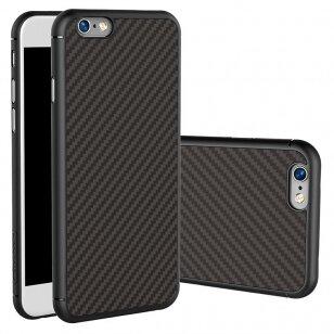 Handyhülle für iphone 6 / 6s Nillkin synthetic carbon Carbonfaser und PP schwarz